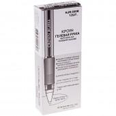 Ручка гелевая Crown, 0,5 мм, грип