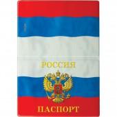 Обложка для паспорта Пвх, Триколор рф, ст.1