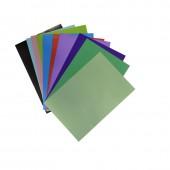 Бумага цветная А4, набор 10л, 20цв, двухсторонняя, ст.1