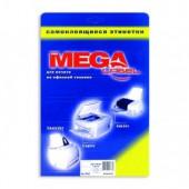 Этикетки самокл. Mega Label, 25 л/уп