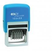 Нумератор автоматический,  6 разр., пластик, Colop S226 ( 4846), (шрифт 4мм),   ст.1