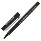 Роллер Pentel Dokument Pen 0.3мм, с резин.манжеткой, черн. ст.1