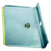 Лопата снеговая алюмин 570х350, б/черенка, мет.окант (61541), ст.1