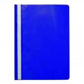 Скоросшиватель пластик, А4, Sponsor, синий, ст.20