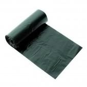 Пакет для мусора, 220л, ПВД, 80мкм, черный, 900х1300, ст.50