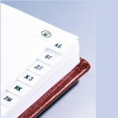 Записная книжка 85х145мм, 96л, Attache Вива, зеленый, А6, ст.1