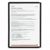 Демо-панель Durable 5606-01, черная, для демо-системы, 5 шт/уп, ст.