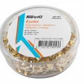 Люверсы KW-Trio 9707, 250 шт/уп, диаметр 4,8мм