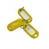 Брелоки для ключей, 10 шт./уп, желтые, ст.1