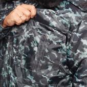 """Куртка зимняя """"Охранник+"""", удл. город (р.48-50) 170-176"""