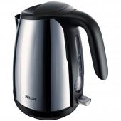 Чайник Philips hd4654 22 метал пл. 1.7л 2400Вт чер сереб.