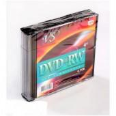Диск DVD+RW VS 4,7GB 4x SL 5шт/уп
