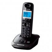 Радиотелефон Panasonic KX-TG2521RUT (тем-сер метал), АОН.гр.связь, автоотв.