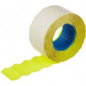 Этикет-лента 26х12, волна, цветная, 800шт/рул.