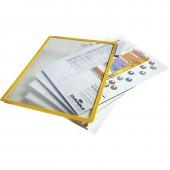 Демо-панель Durable 5606-04, для демо-системы, 5 шт/уп, цвет желтый, ст.1