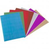 Бумага цветная А4, набор  7л, 7цв, №12, зеркальная, ст.1