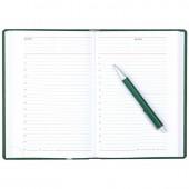 Ежедневник н/дат. А5, Attache Сиам, зеленый, 143х210, 176л, ст.1