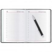 Ежедневник н/дат. А5, Attache Каньон, черный, к/зам, 142х210, 176л, ст. 1