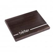 """Бумажник водителя Befler bv.1-1. """" Шик"""" , нат.кожа, черный"""