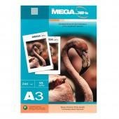 Фотобумага Mega Jet Glossy Premium, А3, 240г/м, 15л, глянцевая, односторонняя, ст.1