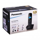 Радиотелефон Panasonic KX-TG1611RUH (серый), АОН, русс.меню