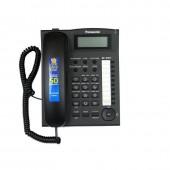 Телефон Panasonic KX-TS2388RU черный SP-phone, АОН, жк-дисп
