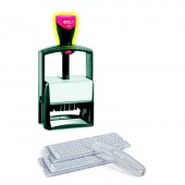 Датер автоматический, самонаб, 10-стр, металл, Colop S2860-Set, (5485), поле 49х68мм, ст.1