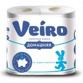 """Бумага туалетная """"Veiro Classic"""" 2-слойная, белая, 4 шт/уп, ст.1"""