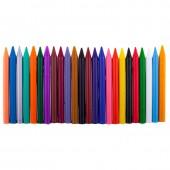 """Карандаши цветные восковые круглые 24цв, """"Классика"""", 8мм, с европодвесом ст.1"""