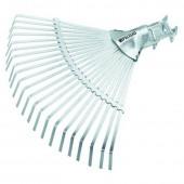 Грабли веерные 22 зуба плоские, б черенка, регулируемые(61702)