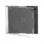 Бокс для CD/DVD дисков VS CD-box Slim/5 черный ст.1