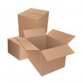 Короб упаковочный 380х304х285мм картон Т23 бурый, 3-х сл., 10 шт. уп