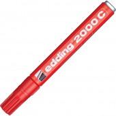Маркер перманентный Edding E-2000c/1, 1,5-3мм, металл. корпус
