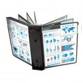 Блок расширения для Mega Office Fds006, на 10 панелей, цвет черный, ст.1