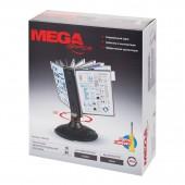 Демо-система настольная, Mega Office Fds008, вращ., пластик, 10 панелей, цвет черный, ст.1