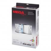 Демо-система настенная, Mega Office Fds012, 10 панелей, цвет черный, ст.1