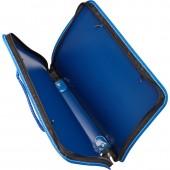 Папка-портфель на молнии, с ручками