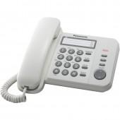 Телефон Panasonic KX-TS2352RUW 3 ном.пам.