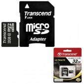 Карта памяти Transcend microSDHC 32GB Class 10 (TS32GUSDHC10)