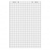 Блок бумаги для флипчартов, 20л/клетка, 675*980, 70г, 5 бл/уп, ст.1