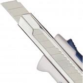 Нож канцелярский  9мм, с антискользящими вставками и точилкой для карандаша  ст.1