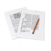 Папка-уголок Е-310, А4, полипропилен, 180 мкм, жесткая