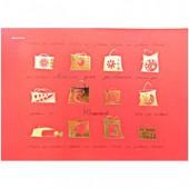 Альбом д/рис. А4, 50л, склейка, Kroyter, Стиль, блок 100г, тиснетие фольгой, ст.1