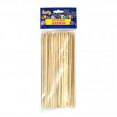 Шпажки деревянные для праздничной сервировки, 20см, 100штук