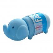 """Ластик Action! """"Слоненок"""", в бумажном рукаве, 47х47х16мм, цвета в ассортименте, блистер с европодвесом"""