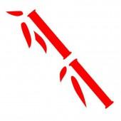 Дырокол фигурный - панч креативный Бамбук Бант, линейный, d=40мм, блистер с европодвесом