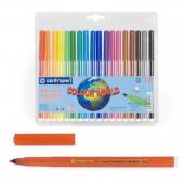 Фломастеры 30цв, Colour World,  с европодвесом