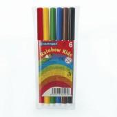 Фломастеры  6цв, Rainbow Kids,