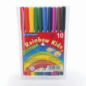 Фломастеры 10цв, Rainbow Kids,