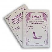 Бумага копировальная, для письма вручную, обл мелов. картон, фиолетовая, 100 л.